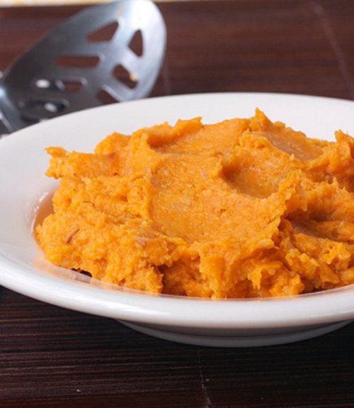 Bourbon Sweet Potato Mash